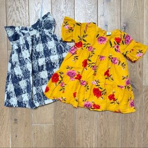 Baby girl summer casual dresses size 6-12 …